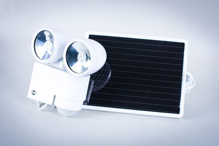 Solarna Lampa Led Greenie Z Czujnikiem Ruchu I Zmierzchu 8xled 05w