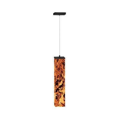 Lampa wisząca Abigali 6614 Marble Stone 606R 25W 3000K 6 x 6 x 50 cm