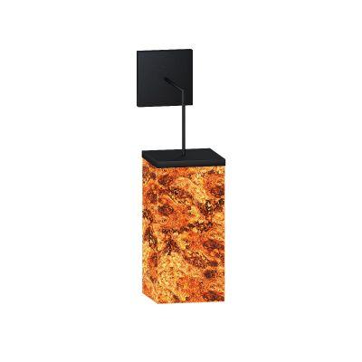 Kinkiet Abigali 6617 Marble Stone 606R 7W 3000K 8 x 8 x 20 cm