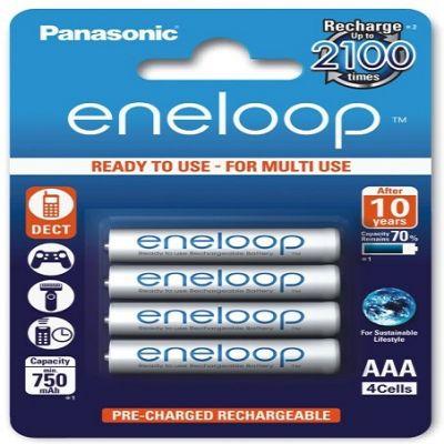 Akumulatorki Panasonic BK-4MCCE/4BE Eneloop R03 AAA 800mAh x4