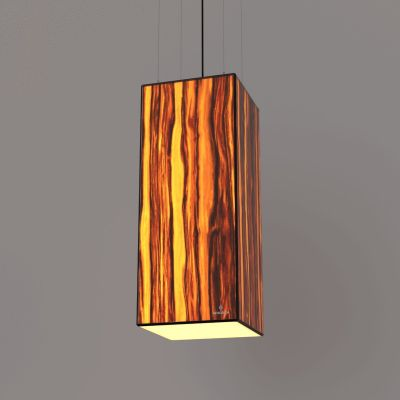 Lampa wisząca LED Wooden TIMBER Apple Wi-fi Control