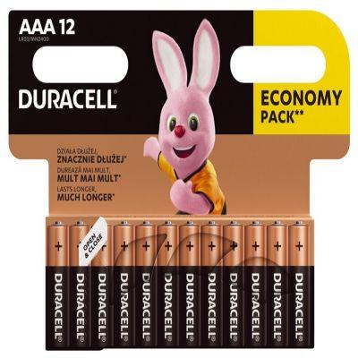 Bateria alkaliczna Duracell MN2400 Basic LR03 AAA x 12