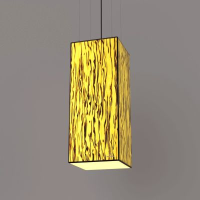 Lampa wisząca LED Wooden TIMBER Birch Wi-fi Control