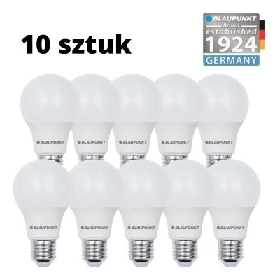 Zestaw 10 szt. - Blaupunkt Żarówki LED E27 6W