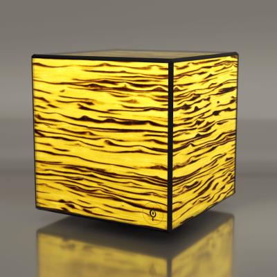 Lampa LED Wooden DICE Birch RGBW Wifi-Control