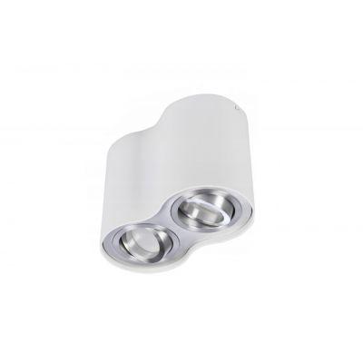 Downlight Azzardo AZ0784 Bross 2 white/aluminium