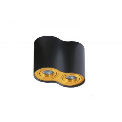 Downlight Azzardo AZ2956 Bross 2 black/gold