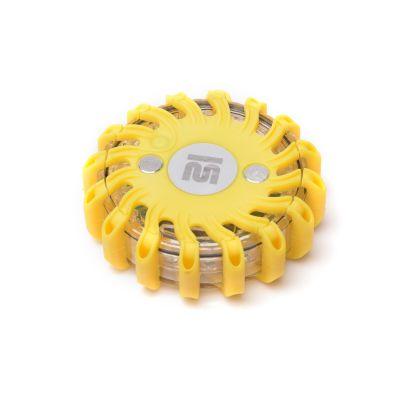 Dysk sygnalizacyjny Mactronic żółty z ładowarką