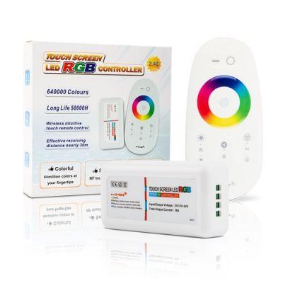 Kontroler taśm LED RGB Greenie zestaw FUT025 - Mi-Light