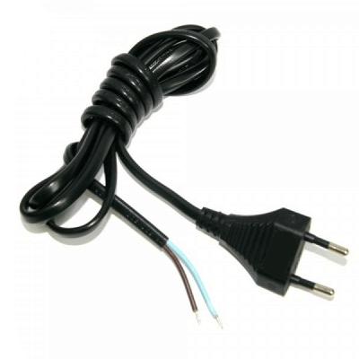 Kabel zasilający 1.9m z wtyczką do kontaktu (EURO)