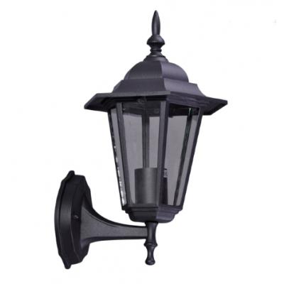Lampa ścienna zewnętrzna Kaja K-5009A UP czarna