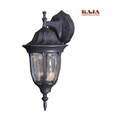 Lampa ścienna Kaja zewnętrzna K-5007A/N DOWN czarna