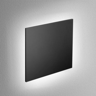 Kinkiet AQForm Maxi Point Square LED 230V Wall Czarny Struktura