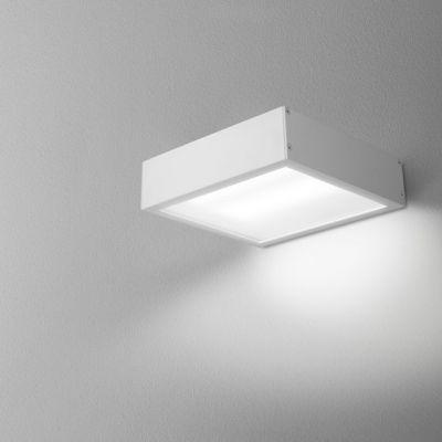 Kinkiet AQForm Slimmer 17 LED Hermetic Wall Biały Struktura