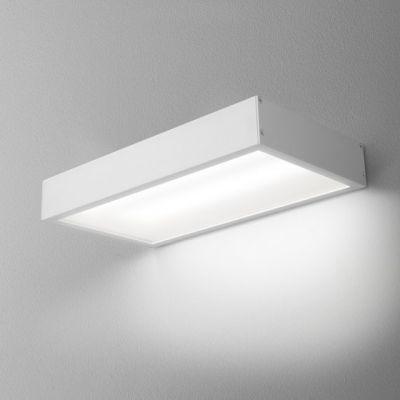 Kinkiet AQForm Slimmer 30 LED Hermetic Wall Biały Struktura