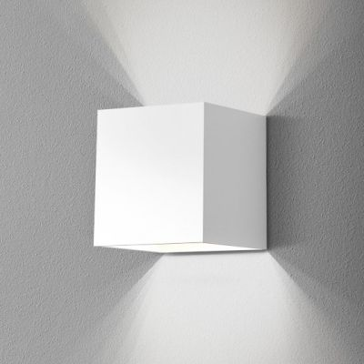 Kinkiet AQForm Mini Cube Led Wall GK Biały Struktura
