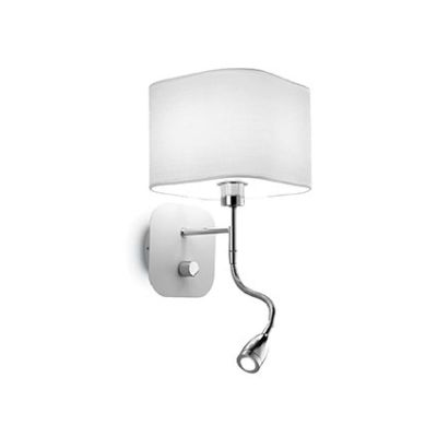 Lampa ścienna Holiday AP2 124162 Bianco Ideal Lux