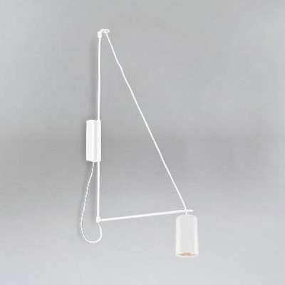 Lampa ścienna Kabe 9016/GU10/BI Shilo