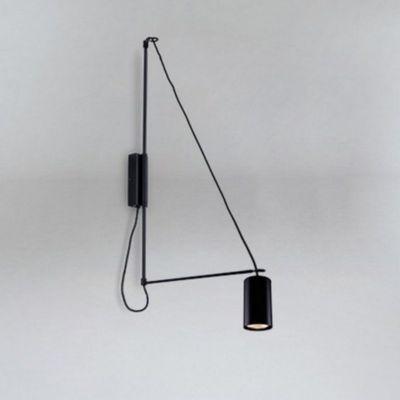 Lampa ścienna 9016/GU10/CZ Shilo