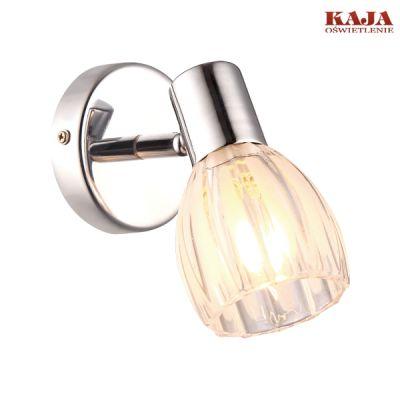Lampa ścienna Kaja K-8001/1 CHR