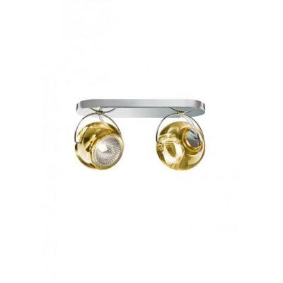 Kinkiet/lampa sufitowa Fabbian D57G2304 Beluga Colour 2 Luci Giollo