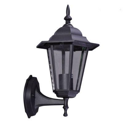 Lampa ścienna zewnętrzna Kaja K-5009 A Down czarna