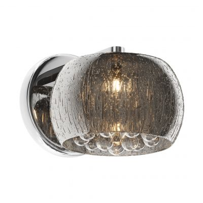 Lampa ścienna Zuma Line Rain W0076-01D-F4K9 (silver)
