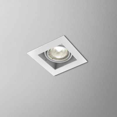 Lampa AQForm Squares 50 X 1 Recessed Biały Struktura