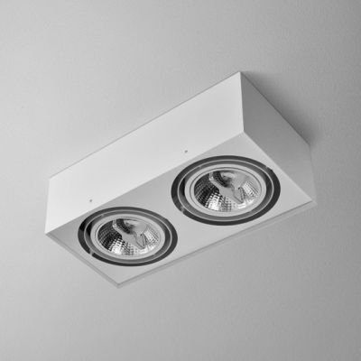 Lampa AQForm Ring 111 Recessed Biały Struktura