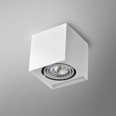 Lampa AQForm Squares 50 X 1 Surface Biały Struktura
