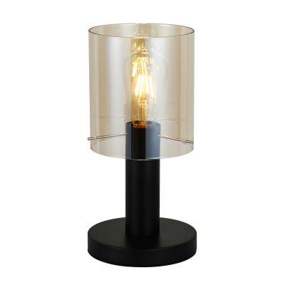 Lampa biurkowa Italux TB-5581-1-BKAMB Sardo