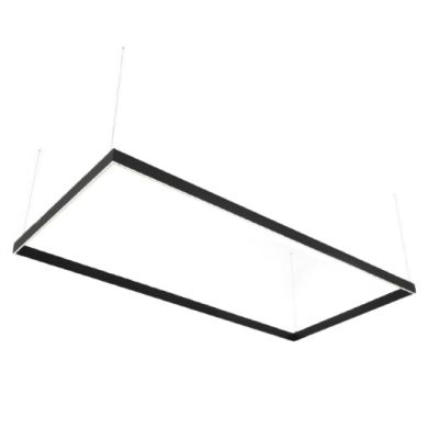 Lampa liniowa LED Abigali Rectangle System duble side prostokąt 240x120 cm