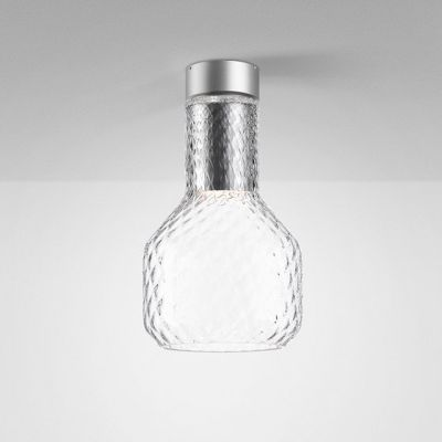 Lampa natynkowa AQForm Modern Glass Barrel GU10 TR Surface Szary
