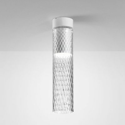 Lampa natynkowa AQForm 40417-M930-D9-PH-03 Modern Glass Tube LED 230V TR Surface Biały Mat