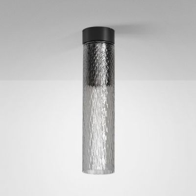 Lampa natynkowa AQForm 40458-M930-D9-PH-02 Modern Glass Tube LED 230V SR Surface Czarny Mat
