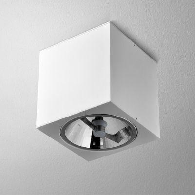Lampa natynkowa AQForm Big Cube 111 Surface Biały Struktura