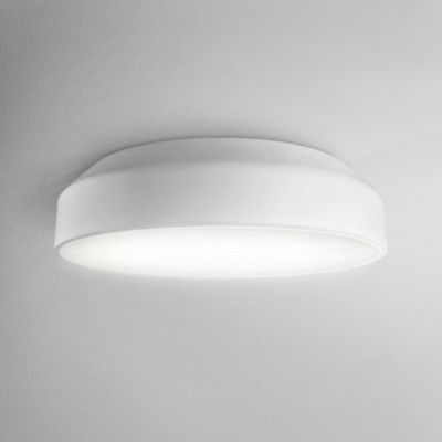 Lampa natynkowa AQForm Maxi Ring LED Surface Biały Struktura