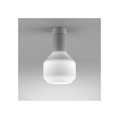 Lampa natynkowa AQForm Modern Glass Barrel GU10 WP Surface Biały Struktura
