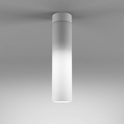 Lampa natynkowa AQForm Modern Glass Tube LED 230V WP Surface Biały Struktura