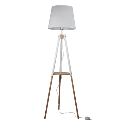 Lampa podłogowa TK Lighting 698 Vaio White