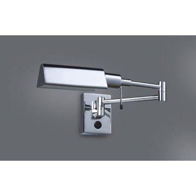 Lampa przyłóżkowa Italux 3101-1-CHROM Senti