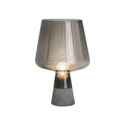 Lampa stołowa Abigali Goblet Smoky
