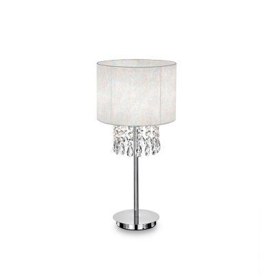 Lampa stołowa IdealLux 68305 Opera TL1 Bianco