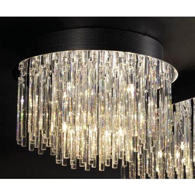 Lampa sufitowa Italux MX51113-10B Spillo