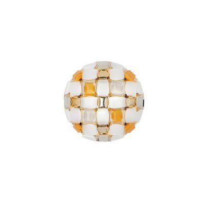 Lampa sufitowa/kinkiet Slamp MID78PLF0000YW000 Mida Amber