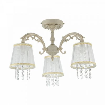 Lampa na sufit Omela Chandelier Cream-Gold ARM020-03-W Maytoni