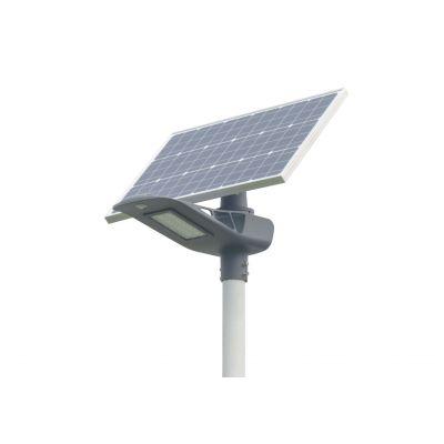 Lampa uliczna solarna LED Greenie 40W Bluetooth, PIR, wskaźnik RGB