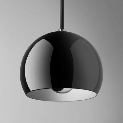 Lampa wisząca AQForm Glob Simple Czarny Połysk