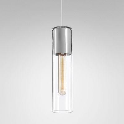 Lampa wisząca AQForm 50473-0000-U8-PH-13 MODERN GLASS Tube Biały struktura