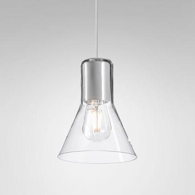 Lampa wisząca AQForm 50474-0000-U8-PH-13 MODERN GLASS Flared Biały struktura
